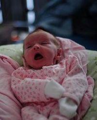 Baby sneeze