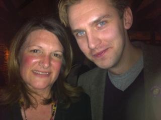 Celeb Twitter dad: Downton Abbey's Dan Stevens
