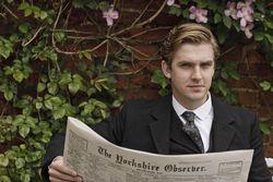 Cousin Matthew Crawley in Downton Abbey