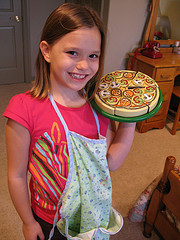 Child cooking from Flickr OakleyOriginals