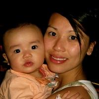Belinda Wong and daughter