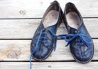 Scruffy shoes