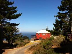 Yurt - view of treebone yurt