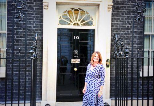 Susanna at No. 10 Downing Street