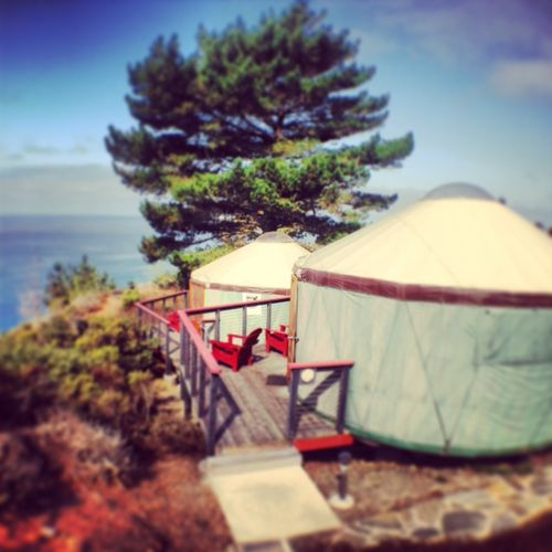 Treebones Resort Big Sur Yurts